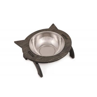Tierfutter-Schüssel | Schwarz