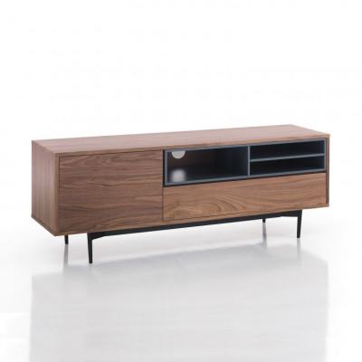 TV-Möbel Piet   Dunkles Holz