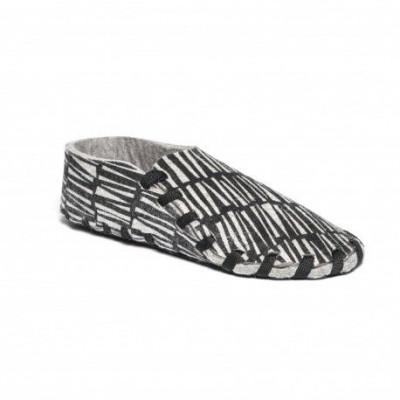 Lasso Shoes Print | Black