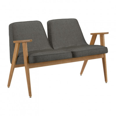 2-Sitzer-Sofa 366 Loft | Grau