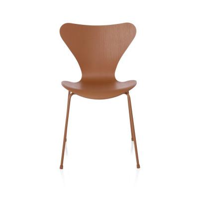 Serie 7 3107 Einfarbiger Stuhl | Chevalier Orange