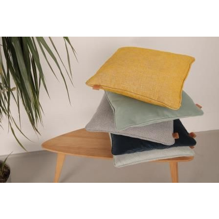Loft Vierkant Kussen | Mustard