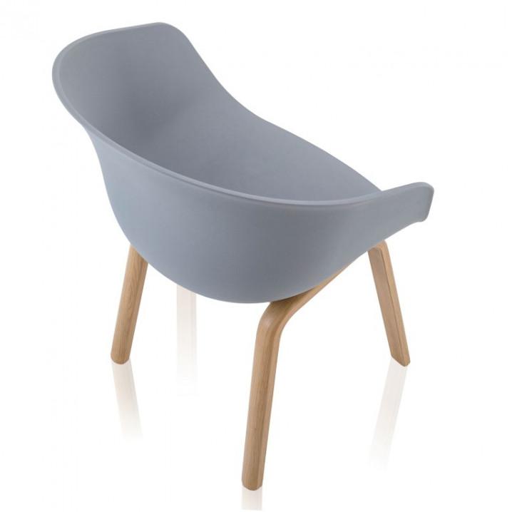 Set de 4   Chaise Mork   Gris