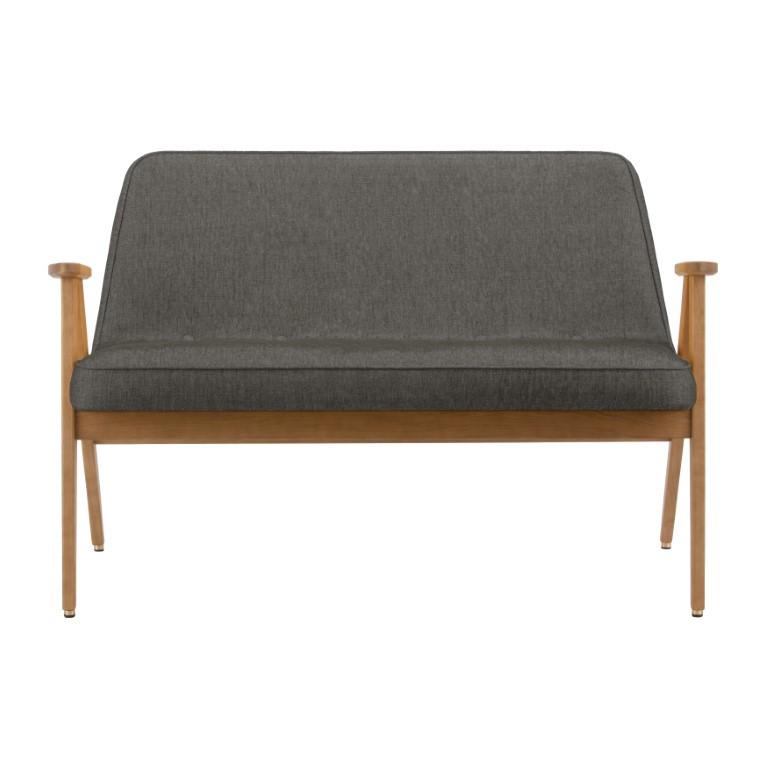 Sofa 366 Loft   Eiche & Grau