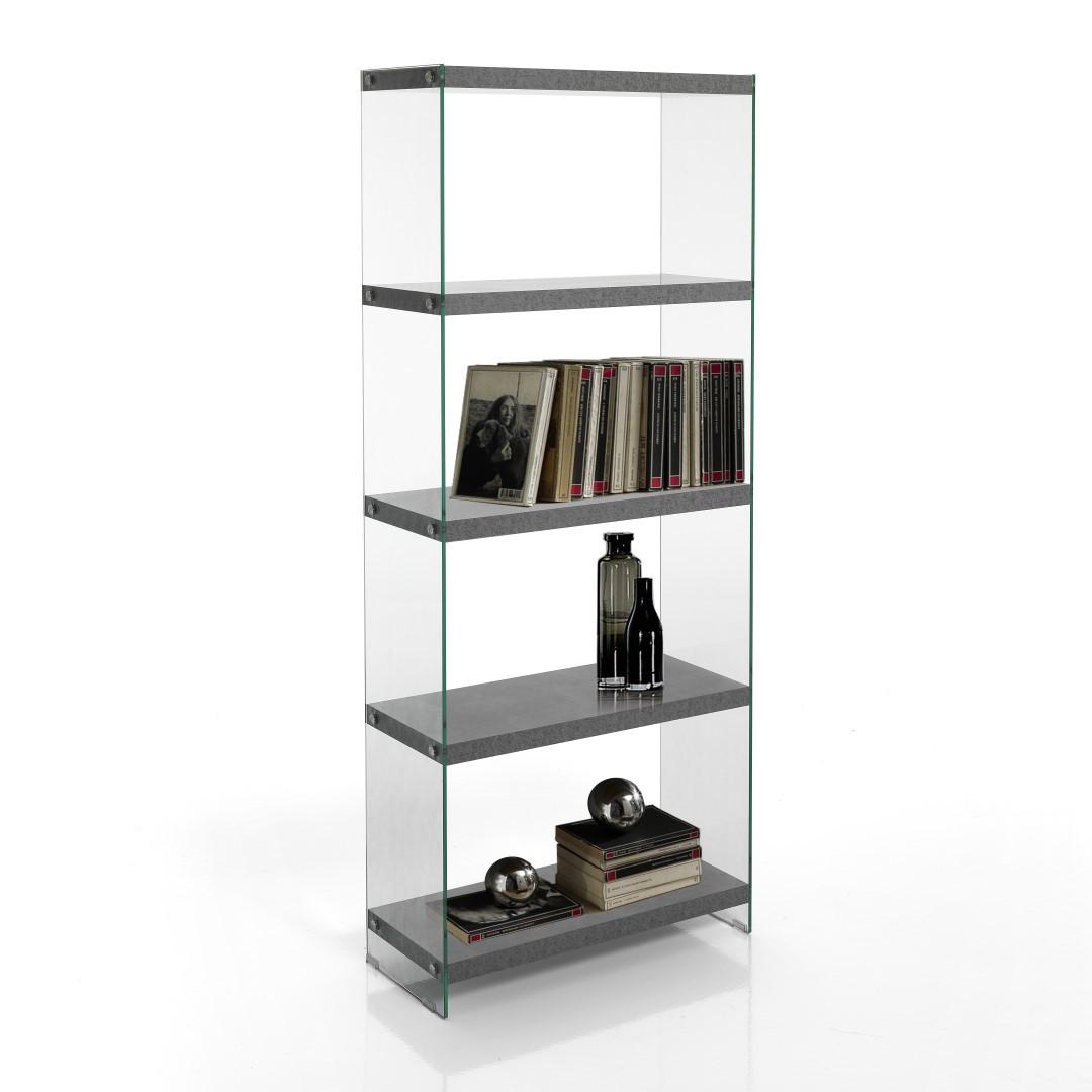 Bookcase Nancy 70   Cement