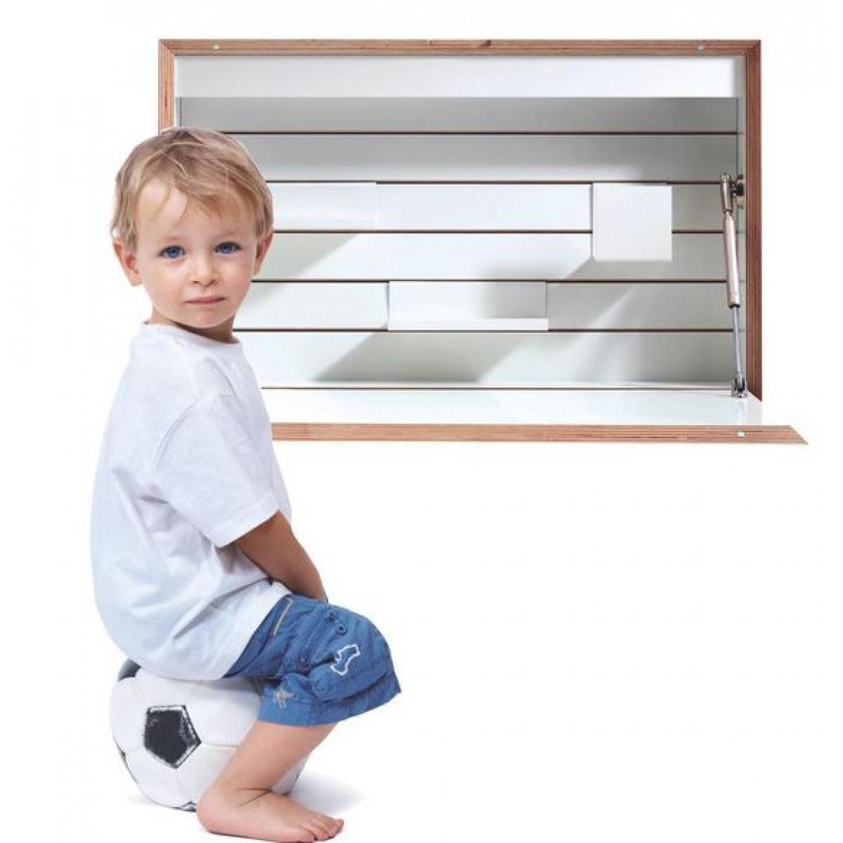 Wall Desk Flatbox | White