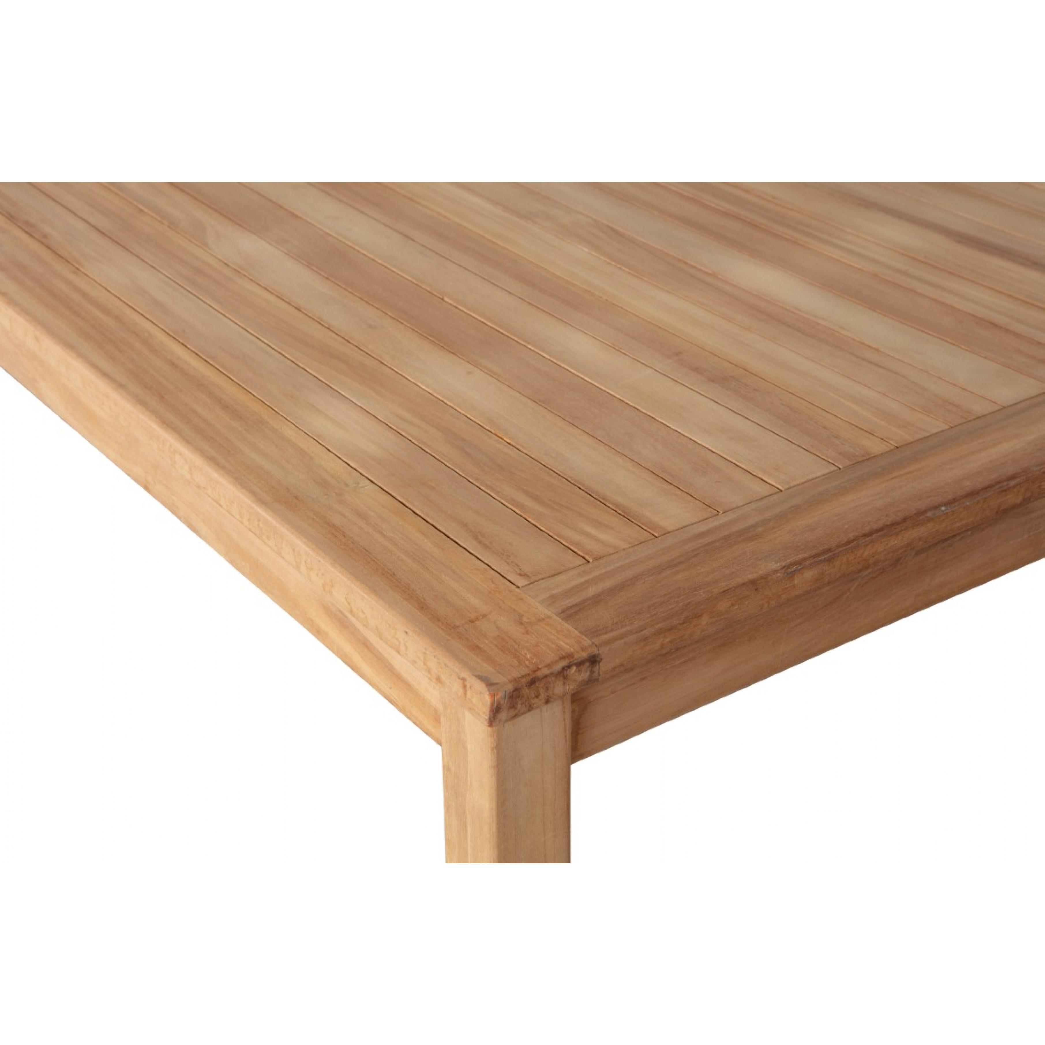 Jisse Garden Table Teak Natural 160cm | Natural