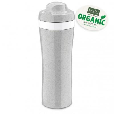 Wasserflasche | Organisch Grau