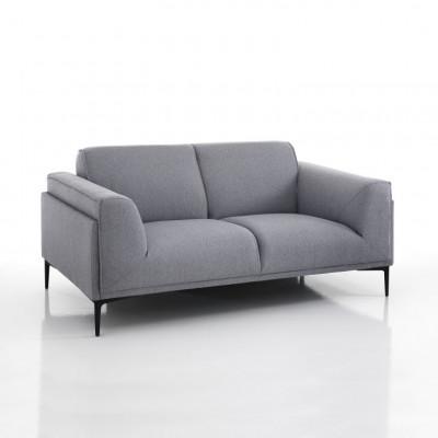 2-Sitzer-Sofa Nadine   Grau