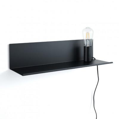 Regal Lampe Nachttisch Magic | Schwarz