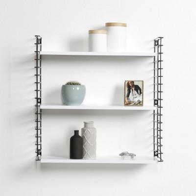 Bücherregal | Schwarz-Weiß