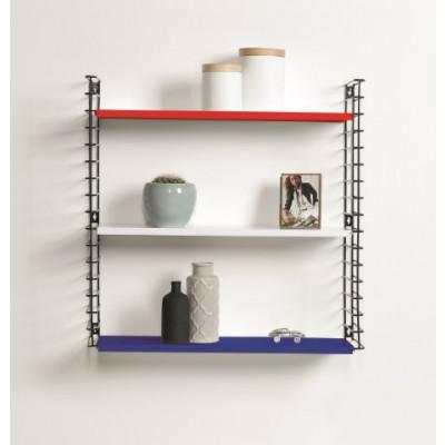 Bücherregal | Blau, Rott & Weiß