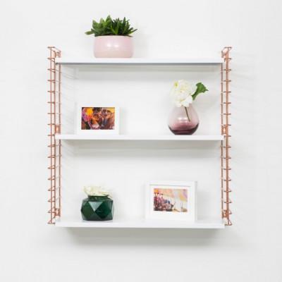 Bücherregal | Kupfer & Weiß