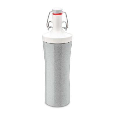 Wasserflasche Plopp To Go | Bio-Grau