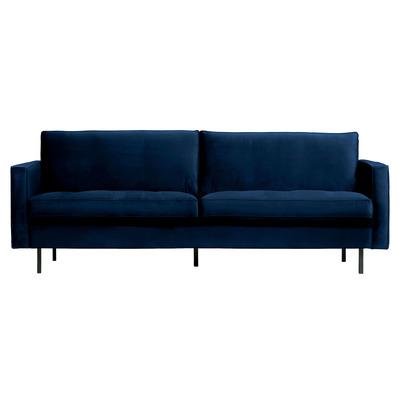 2,5 Seater Sofa Rodeo Classic Velvet | Dark Blue