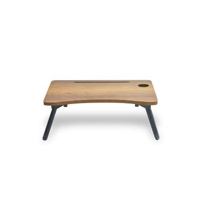 Laptop Standing Desk | Walnuss-Schwarz
