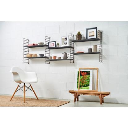 Book Shelf | Bronze & Black