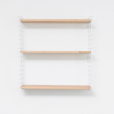 Book Shelf   White & Wood