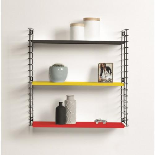 Book Shelf   Black, Yellow & Red