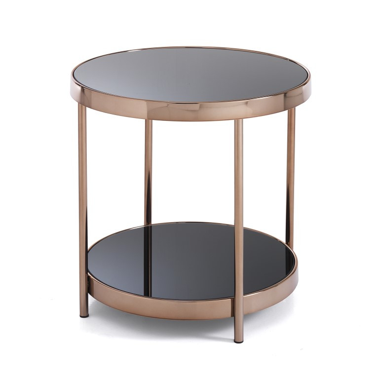 Coffee Table Two Rings | Rose Gold