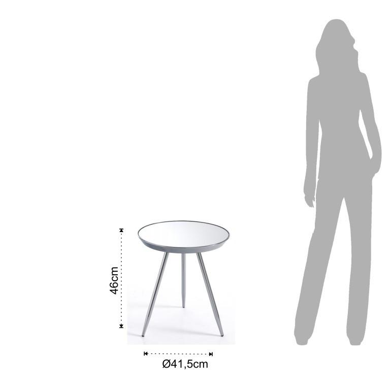 Coffee Table Spok | Chrome