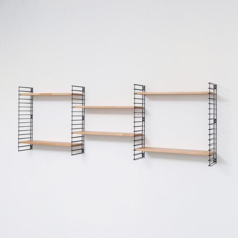 Book Shelf | Black & Wood