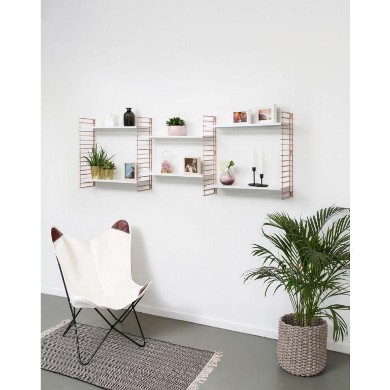 Book Shelf | Copper & White