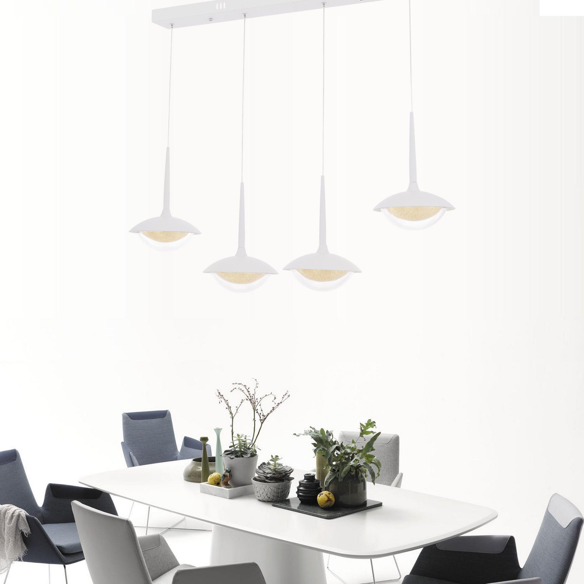 Kronleuchter Yemek Masası | Weiß