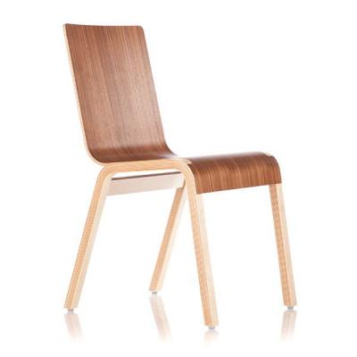 Reißverschluss-Stuhl - Walnuss