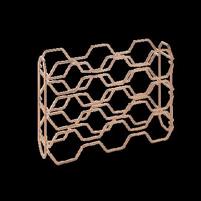 Flaschenregal Hexagon
