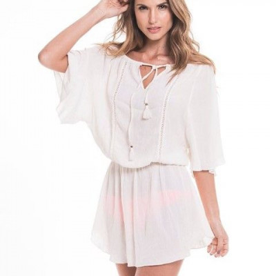Short Dress | Ivory