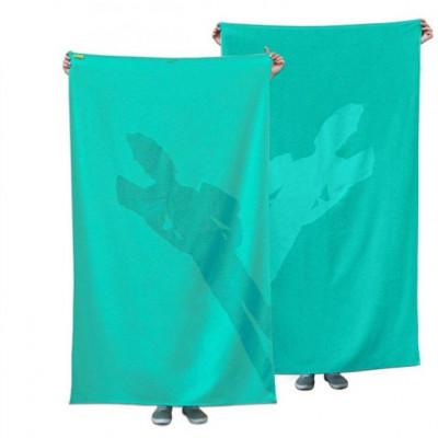 Maxi Handtuch Shadow Kind / Aqua Turquoise