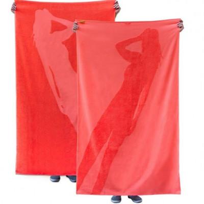 Maxi Handtuch Shadow Frau / Flamingo Red