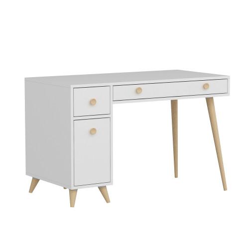 Schreibtisch Inarch   Weiße Eiche