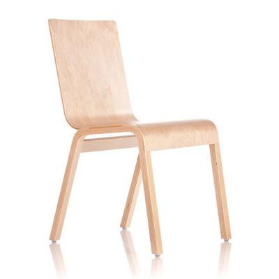 Reißverschluss-Stuhl - Birke
