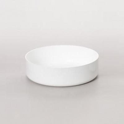 ABCT Niedrige Kasserolle - Ø 24 cm | Weiß