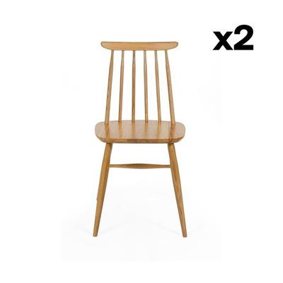 2-er Set Stühle Aino | Eiche