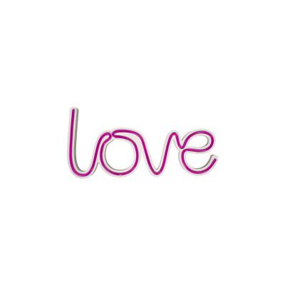 Neon Wandlampe Love | Pink