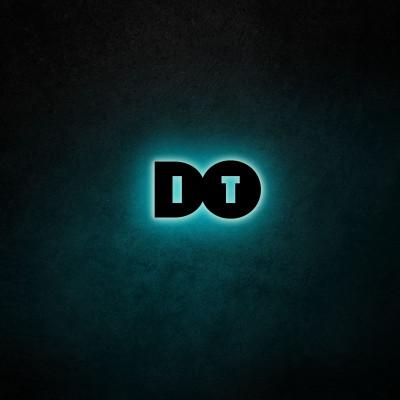 Neon-Wandleuchte Do It | Blau