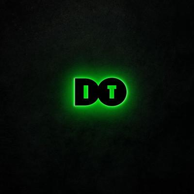 Neon-Wandleuchte Do It | Grün