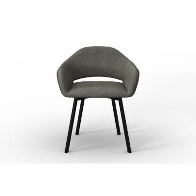 Stuhl Oldenburg | Taupe-Leinen Touch