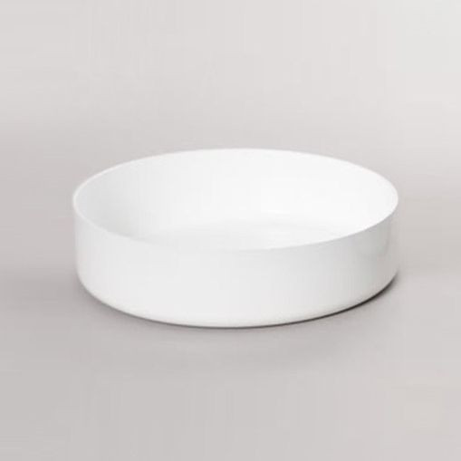 ABCT Low Casserolle Induction - Ø 28 cm   White