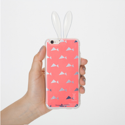 iPhone 6/S Layer Cover   Pink abstract