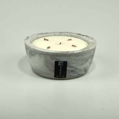 Scented Candle Fire me Up | Grey
