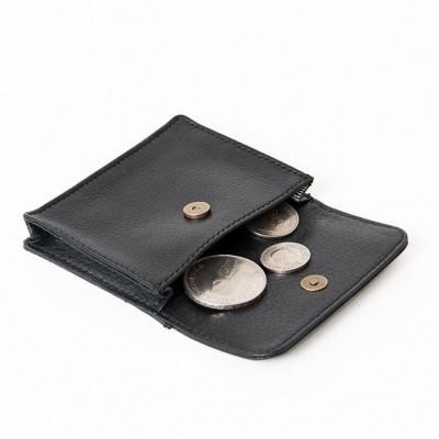 Coins & Credit Card Wallet | Black