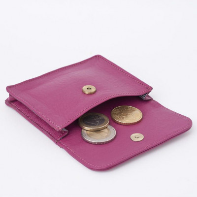 Coins & Credit Card Wallet | Raspberry