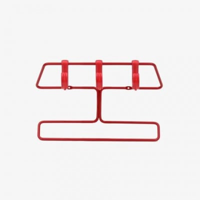 Superemma 30 Kleiderbügel - Rot