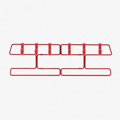 Superemma 60 Kleiderbügel - Rot