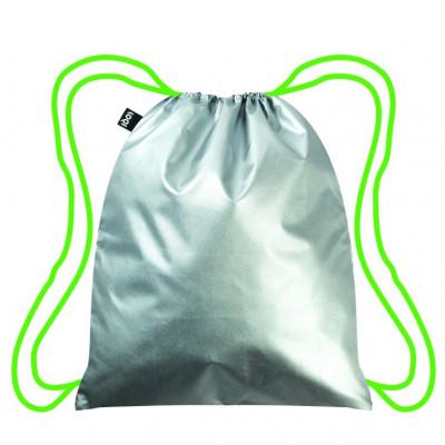 Backpack Metallic | Silver - Neon