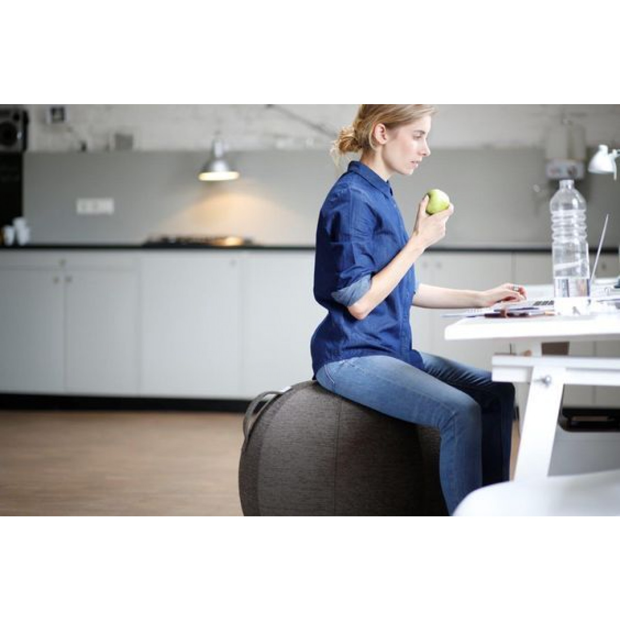 Sitzball VLUV STOV | Benzinblau